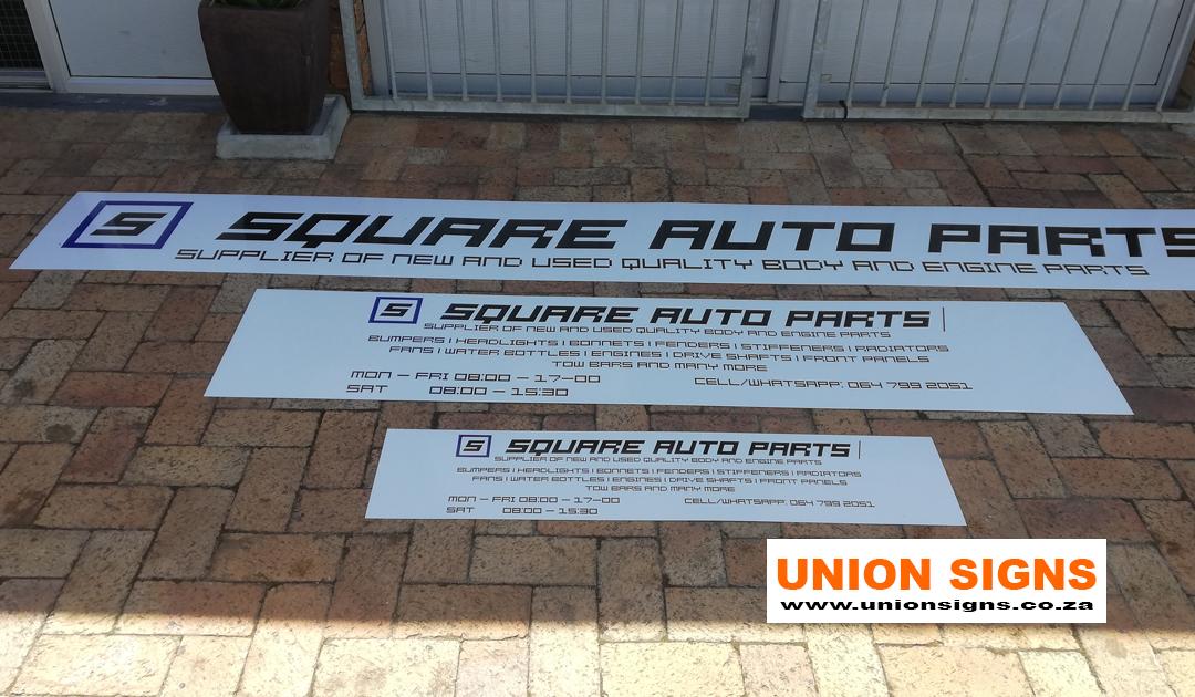 Square Auto Parts